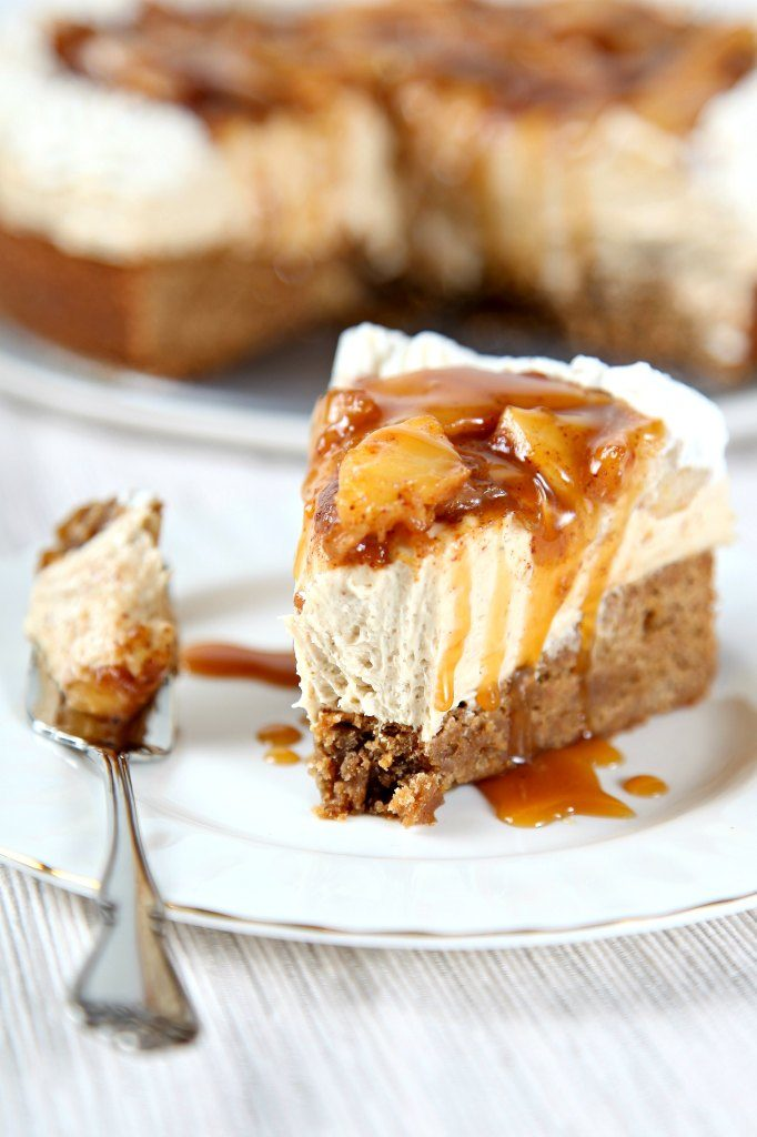 caramel, apple, cheesecake, dessert, thanksgiving, recipe, baking beauty