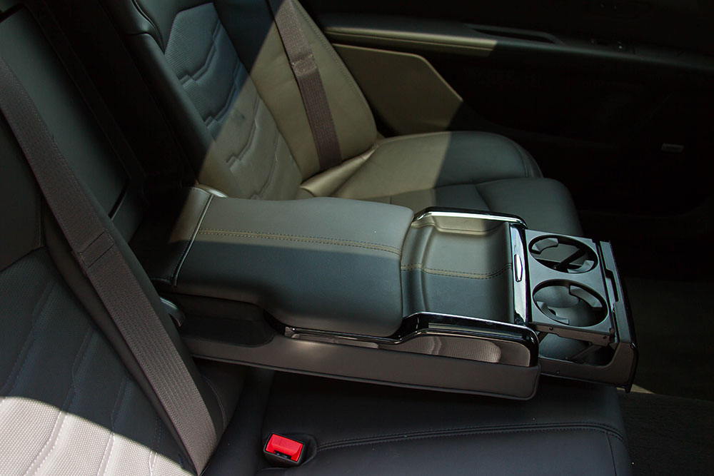 2016 Cadillac CT6 Backseat 2