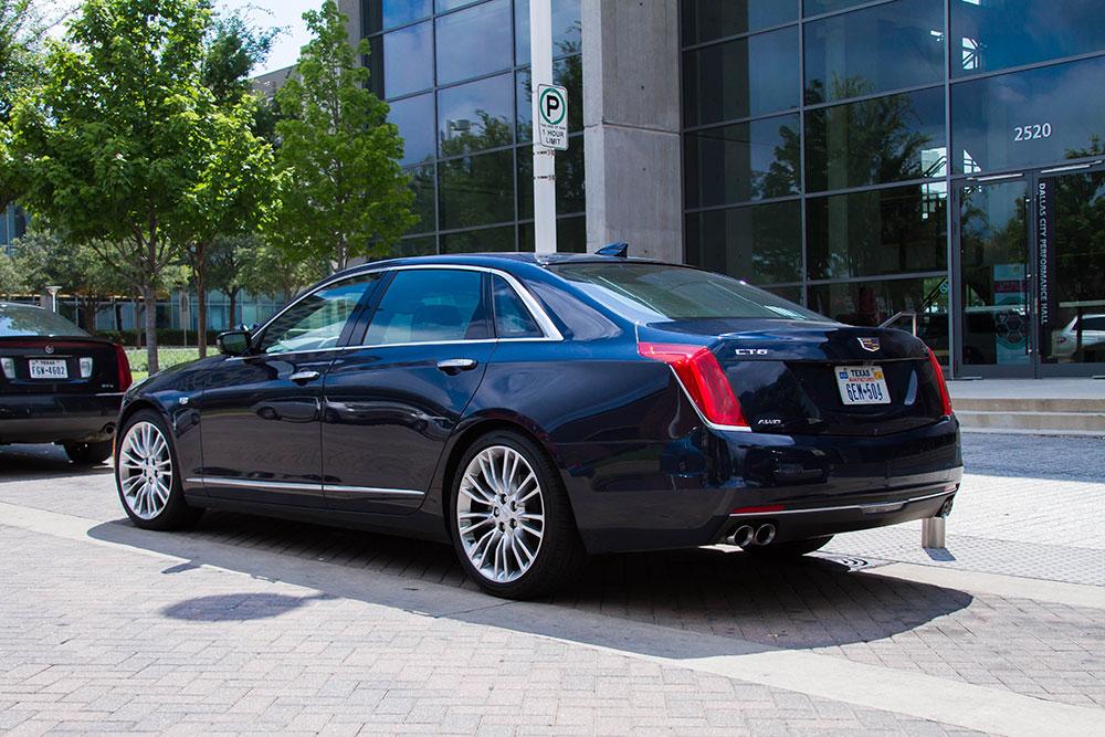 2016 Cadillac CT6 Back