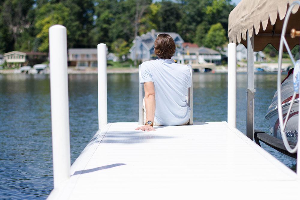 Leaving the Lake Indiana