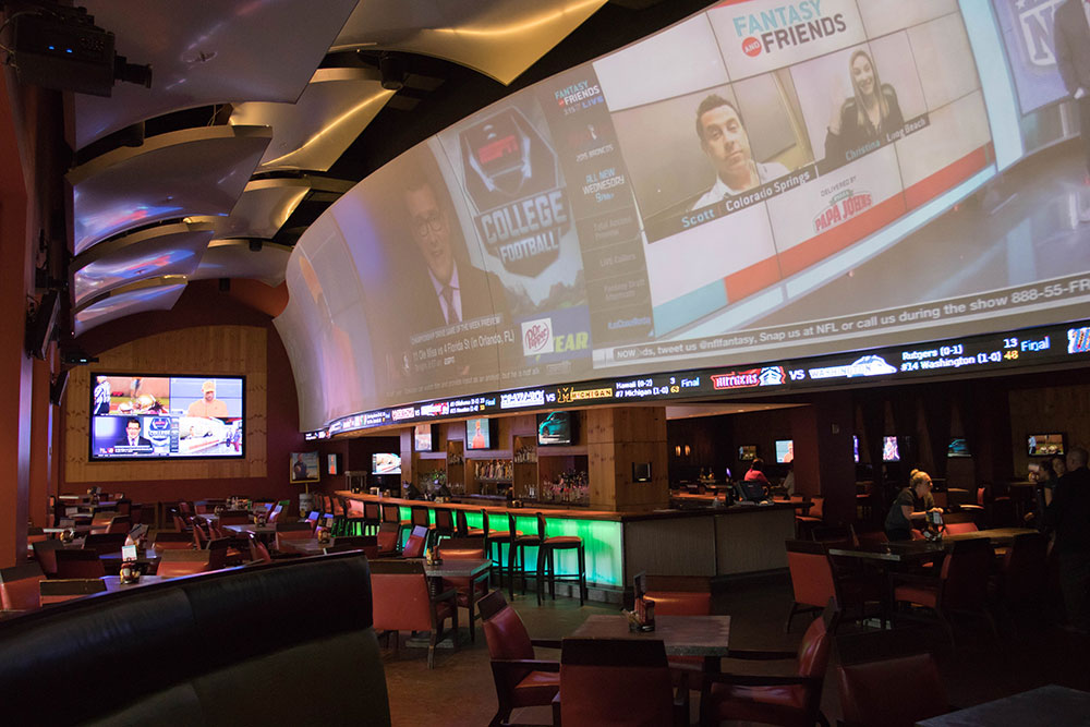 JW Marriot Sports Bar Texas