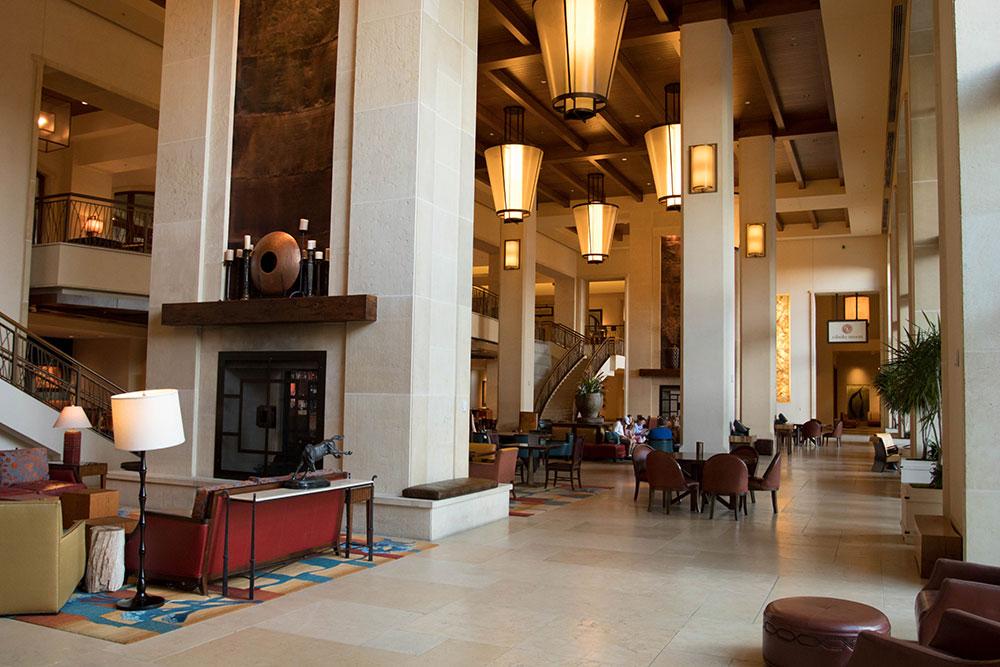 Inside JW Marriott