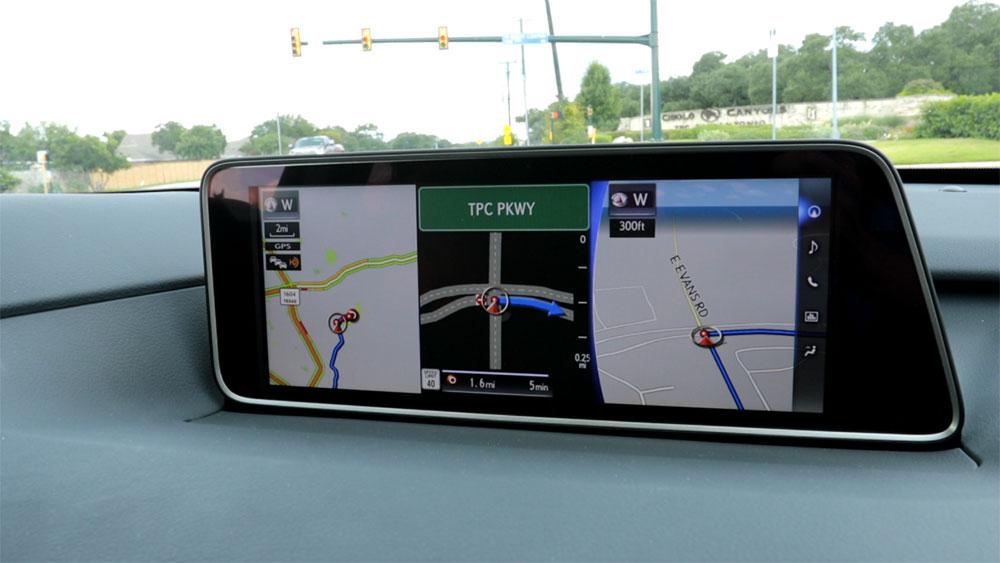 Lexus Austin RX 350 Navigation