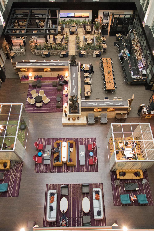 Atrium The Nines Portland Oregon
