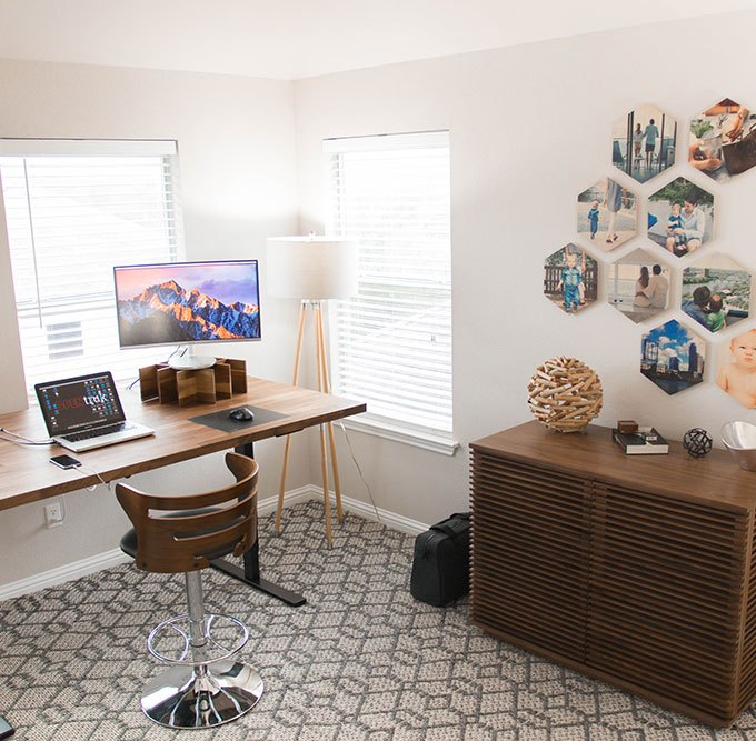 work from home office. My New Work From Home Office
