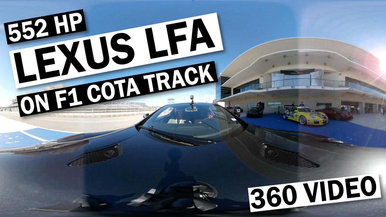 Lexus LFA 360 Video