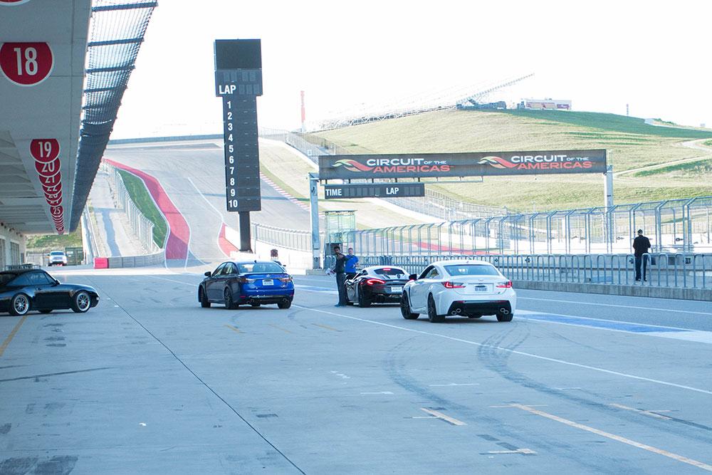 Lexus RCF - COTA F1 Track Day