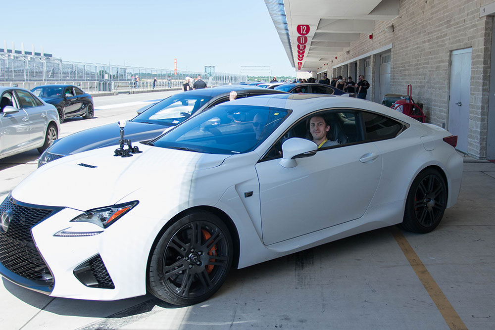 Lexus RCF with 360 Camera - COTA F1