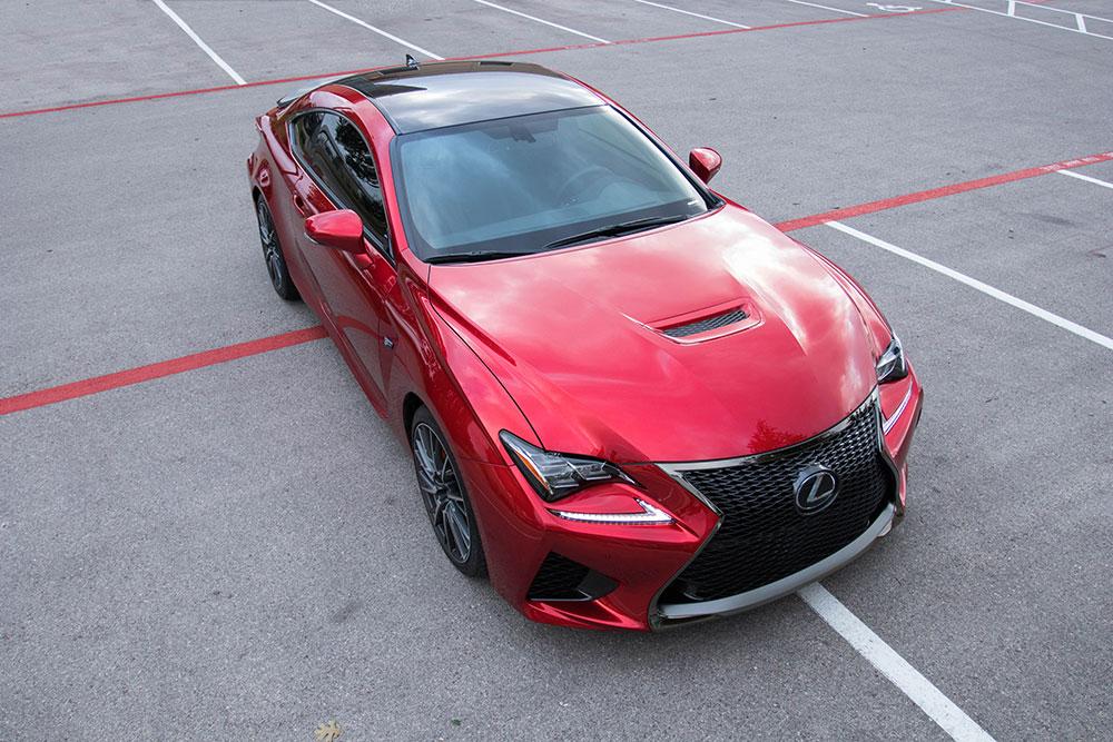 2017 Lexus RC F Carbon