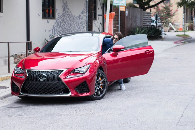 Getting out of Lexus RC F