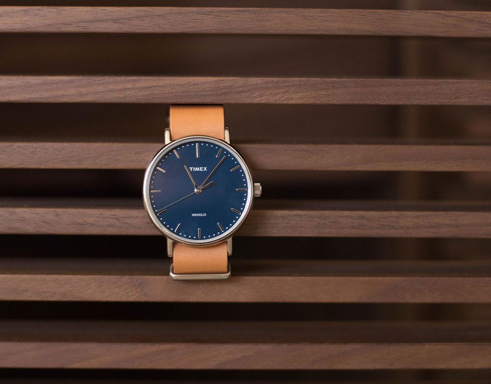 Timex Watch Blue 2