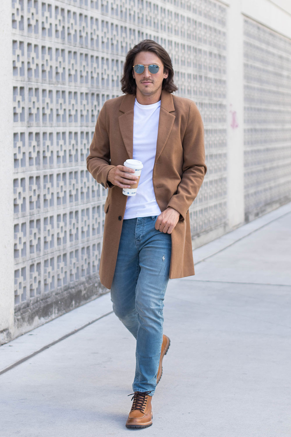 How to Style a Camel Overcoat
