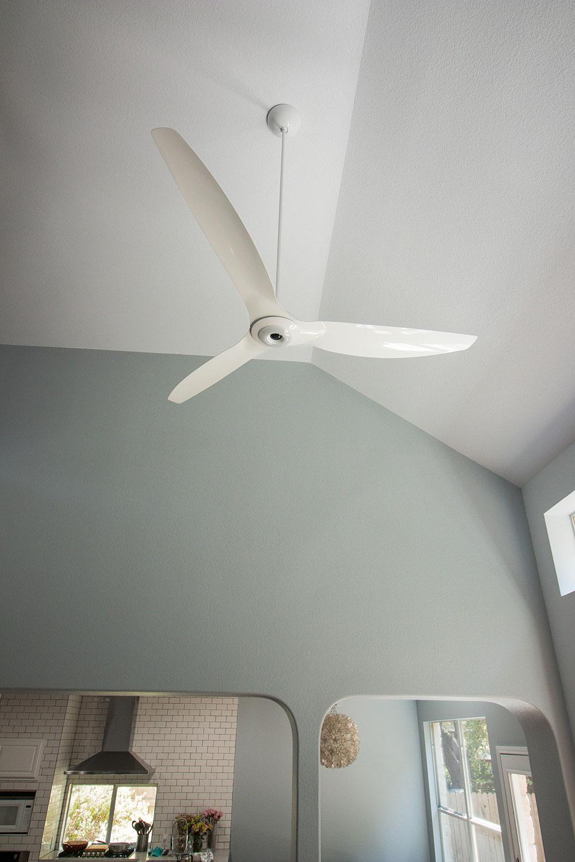 "Haiku 84"" White Aluminum Ceiling Fan"