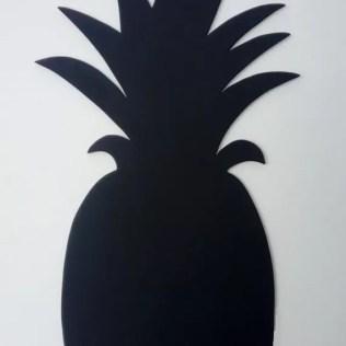 Zomerse slinger sjablonen ananas