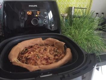 Airfryer hartige taart