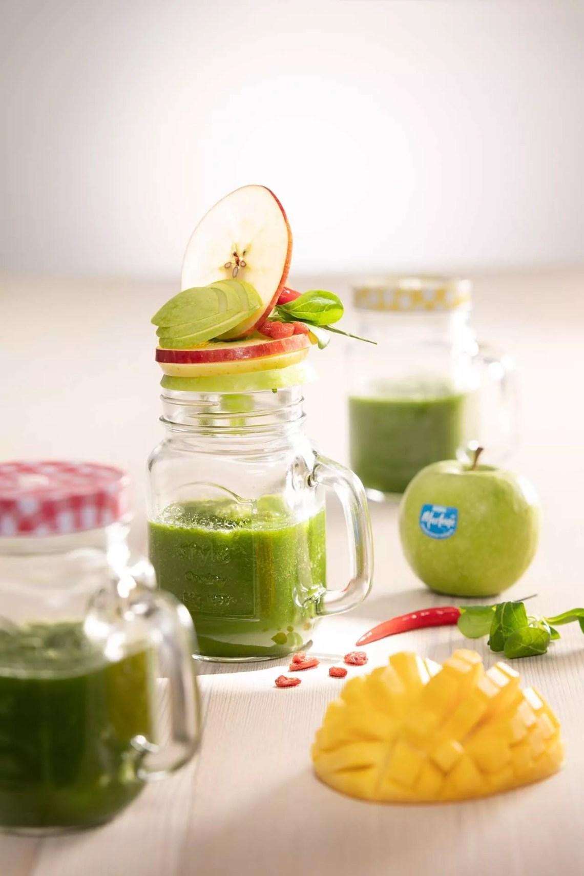 gezonde smoothie met mango en marlene appels