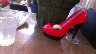Cool Tape Dispenser next to me.
