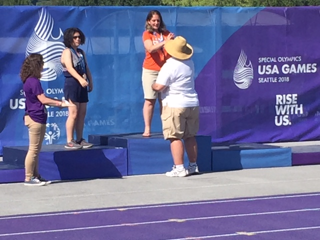 Abby Tetrault – Summer USA Games in Seattle