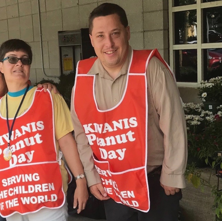Volunteering for Kiwanis