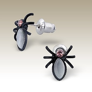 spider-earrings