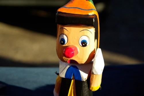 Pinocchio lying to you