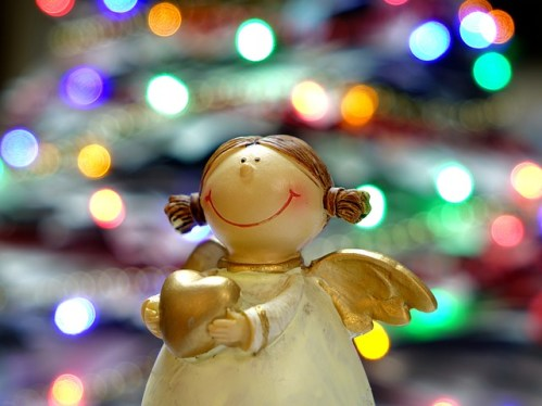 christmas spirit angel ornament PB