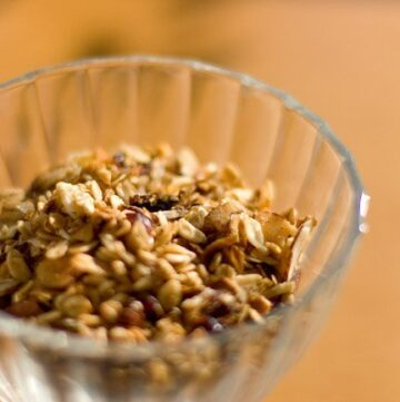 Maple Almond Slow Cooker Granola