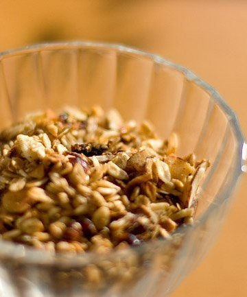Maple Almond Slow Cooker Granola