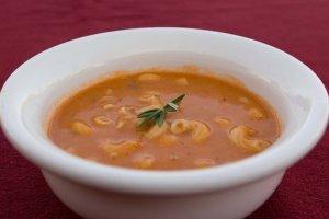 Pasta e Ceci Soup {Pasta and chickpea soup} recipe