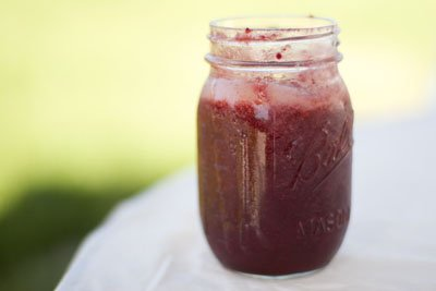 Preserving Summer: Cherry Plum Jam and Raspberry Lime Syrup