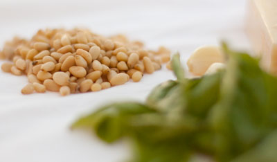 Traditional Pesto Pine Nuts