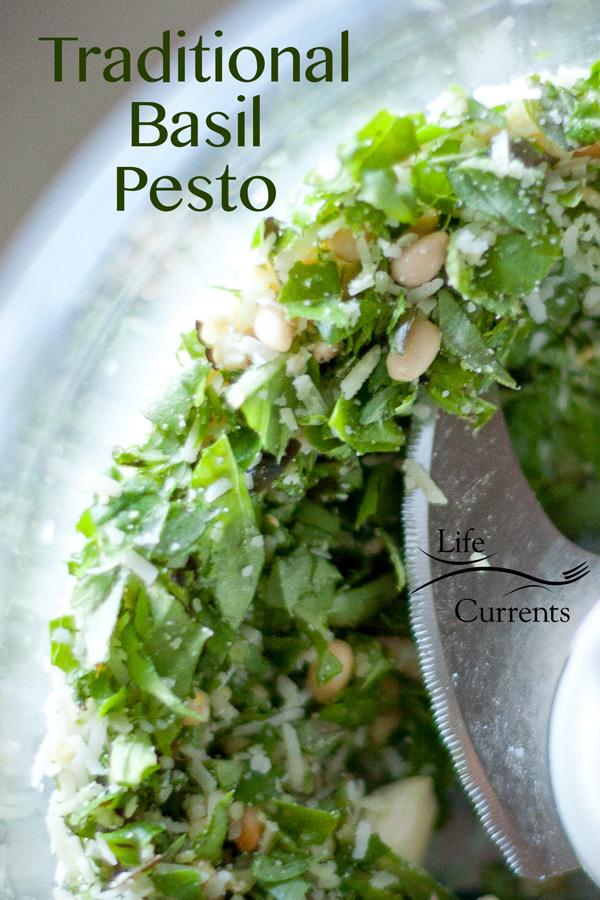 Traditional Pesto - basil, sauce, pasta