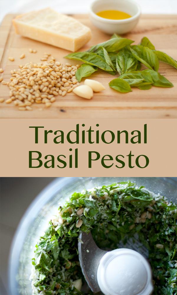 Traditional & Classic Basil Pesto