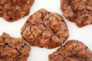 flourless chocolate cookies cookies, gluten-free, unprocessed