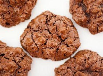 flourless chocolate cookies cookies, gluten-free, unprocessed