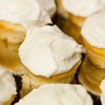 Mini coconut lemon cupcakes with cream cheese frosting | Life Currents