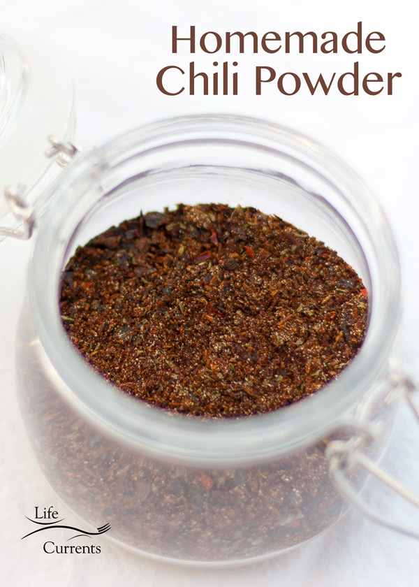 Homemade Chile Powder - richer and darker in color than the store-bought stuff. Its aroma is heady and full.