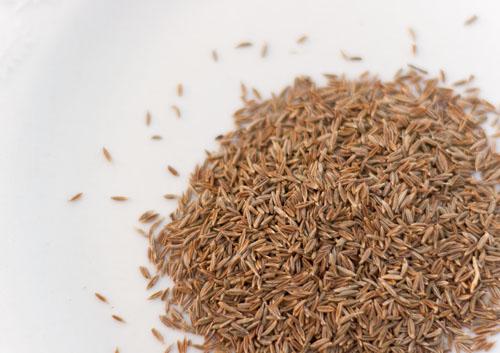 Homemade Chile Powder cumin seeds