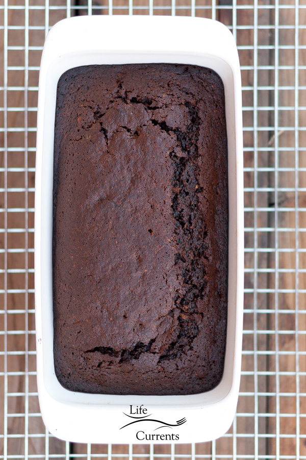 Chocolate Zucchini Cashew Quick Bread