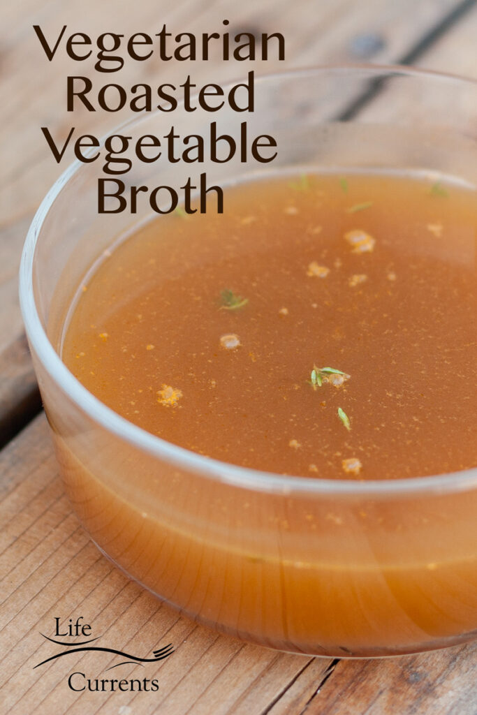 broth in a glass bowl with the title on the image