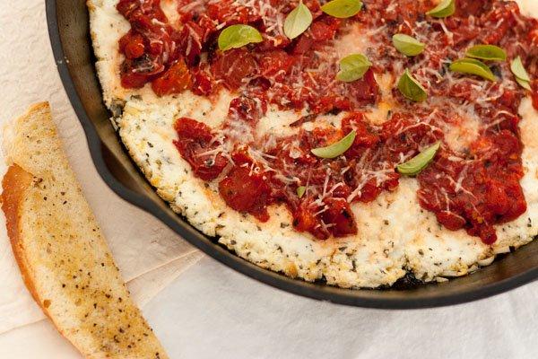 Lasagna Dip appetizer snack Italian