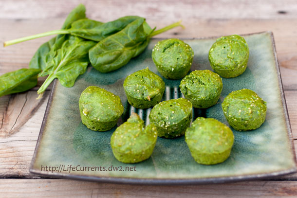 "I'd like to call these Spinach Quinoa Muffins, ""Oscar The Grouch Muffins"". Green and kind of gruff looking, but ultimately lovable and yummy! Life Currents #quinoa #muffins #green https://lifecurrentsblog.com"