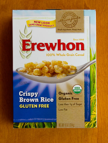 Crispy Brown Rice Cereal