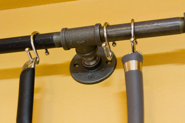The flanges attach to the wall into the studs.