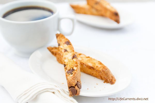Almond Biscotti with Chocolate Chips   Life Currents