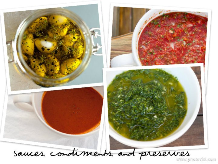 Sauce, condiments, and Preserves