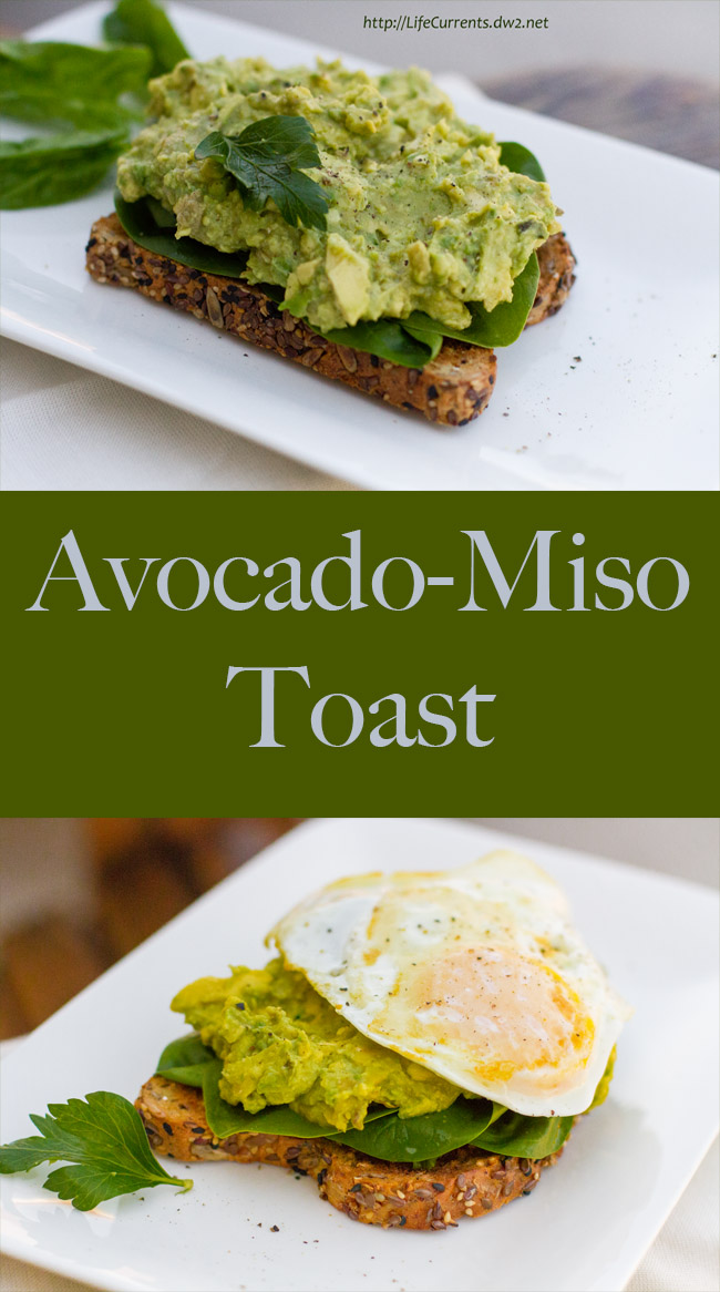 Avocado Miso Toast