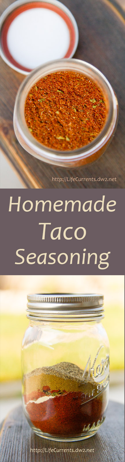 This Taco Seasoning is ahhh-mazing. It smells so deep and rich. So full of flavor. And, I left the salt out entirely.
