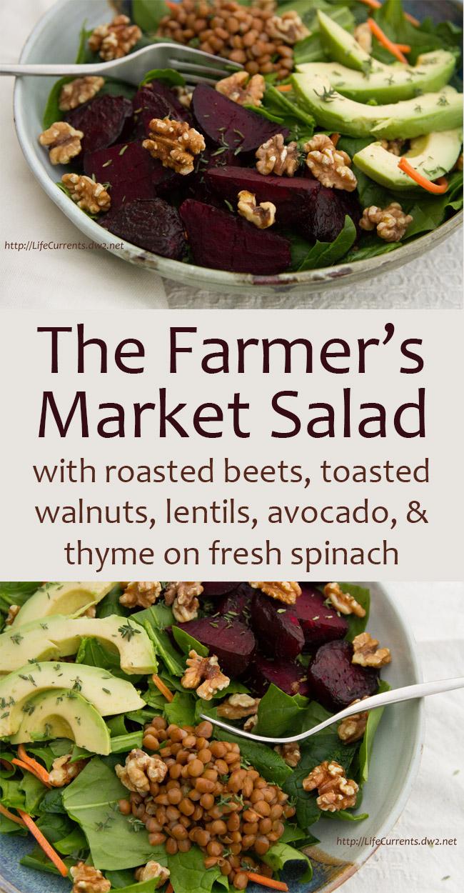 The Farmer's Market Salad
