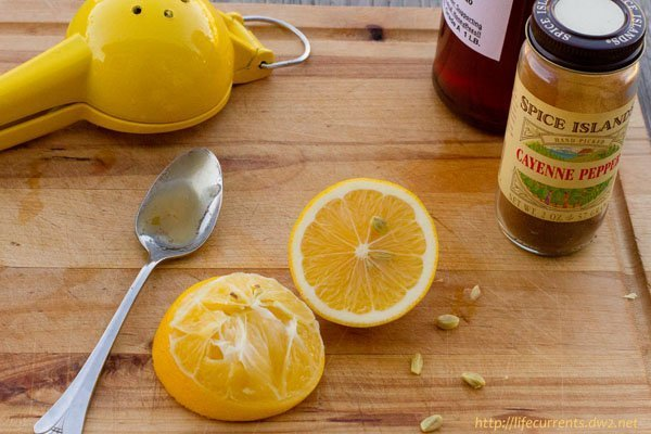The Hot Honeyed Lemon